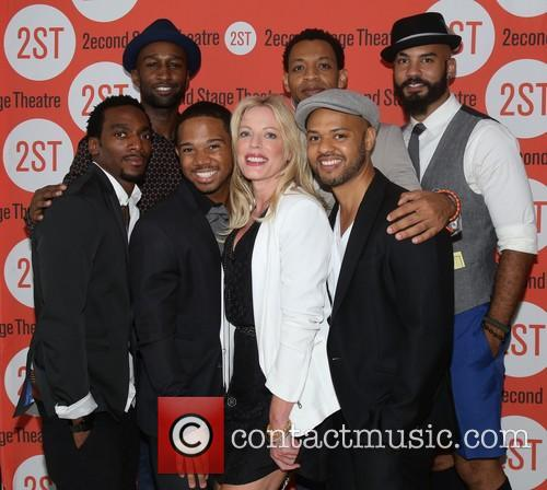 Daniel Watts, Donald Webber Jr, Chris Myers, Sherie Rene Scott, Derrick Baskin and Nick Christopher 2