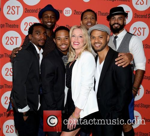 Daniel Watts, Donald Webber Jr, Chris Myers, Sherie Rene Scott, Derrick Baskin and Nick Christopher 1