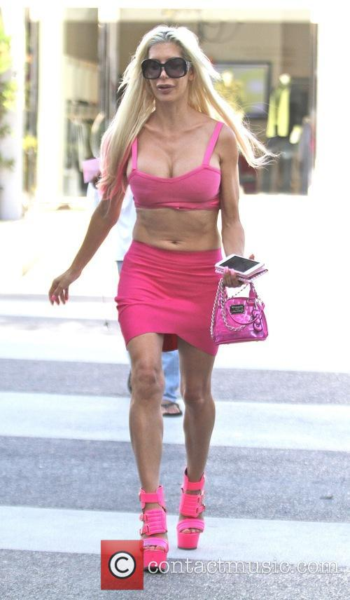Angelique 'Frenchy' Morgan out shopping in Los Angeles