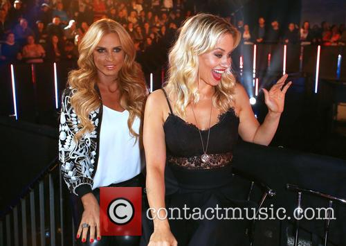 Katie Price and Kimberly Wyatt 2