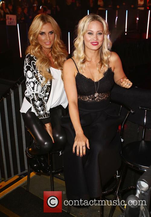Katie Price and Kimberly Wyatt 1