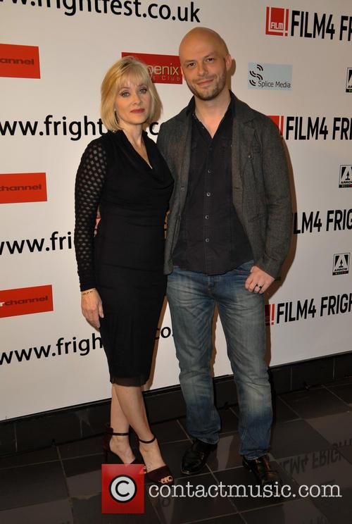 Barbara Crampton and Ted Geoghegan 2