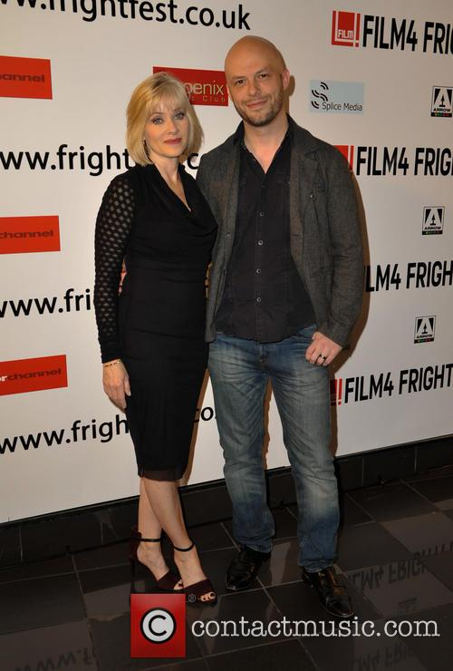 Barbara Crampton and Ted Geoghegan 3