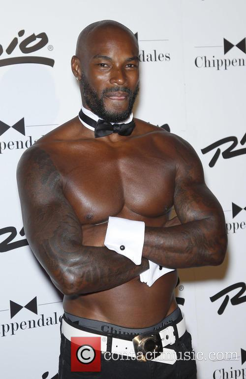 Tyson Beckford returns to chippendales at the Rio...