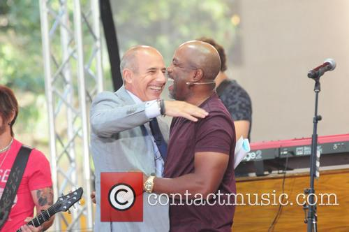 Matt Lauer and Darius Rucker 2