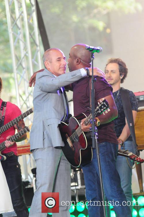 Matt Lauer and Darius Rucker 1
