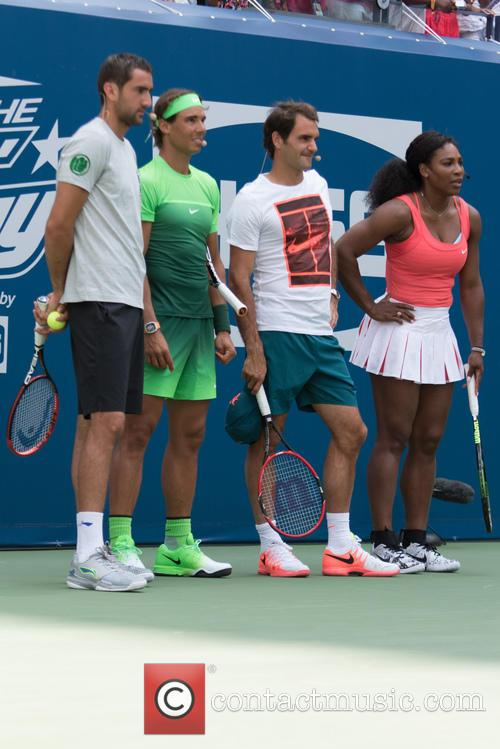Novak Djokovic, Rafael Nadal, Jack Sock and Serena Willams 1