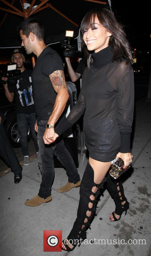 Jesse Metcalfe and Cara Santana leave The Nice...