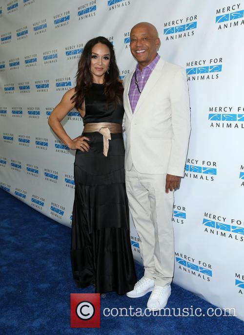 Mayte Garcia and Russell Simmons 2