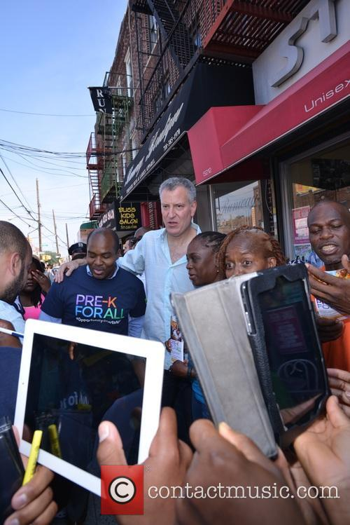 Mayor De Blasio and First Lady Chirlane Mccray 5