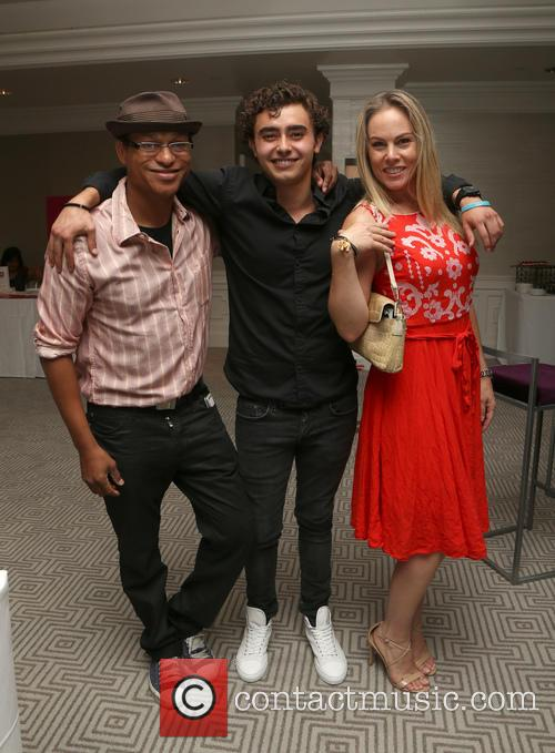 Clinton Wallace, Jansen Panettiere and Christy Oldham