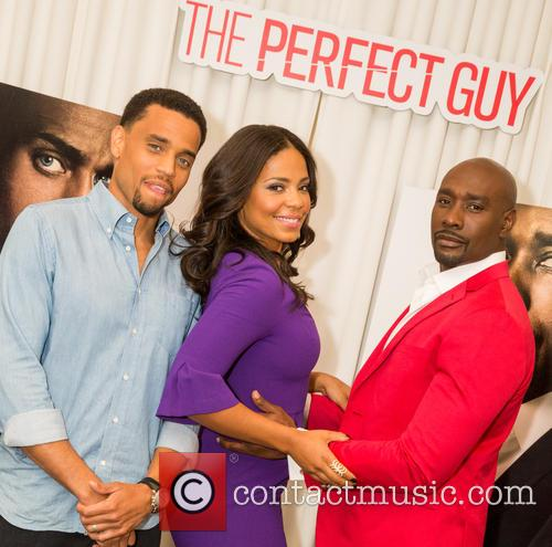 Michael Ealy, Sanaa Lathan and Morris Chestnut 6
