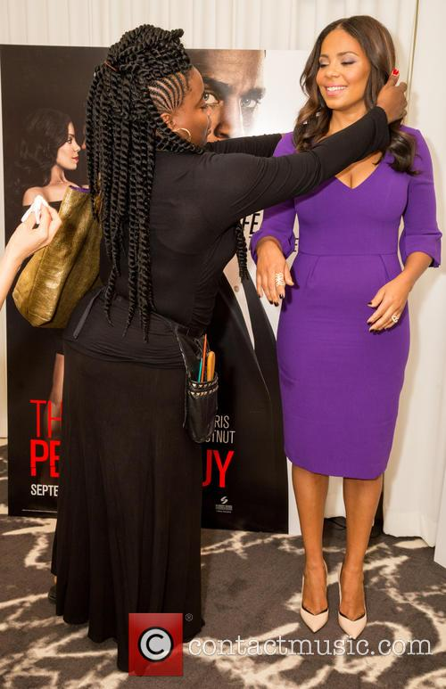 Kim Kimble and Sanaa Lathan 1