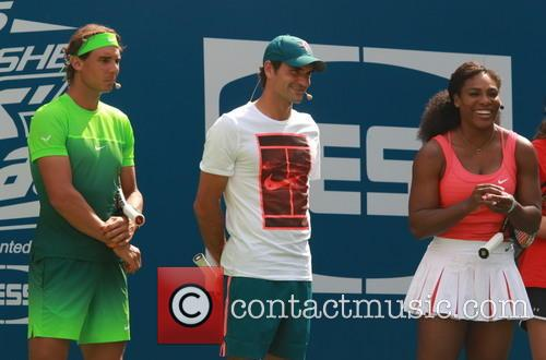 Rafael Nadal, Roger Federer and Serena Williams 2