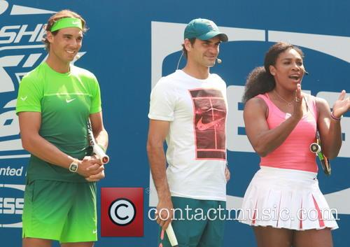 Rafael Nadal, Roger Federer and Serena Williams 3