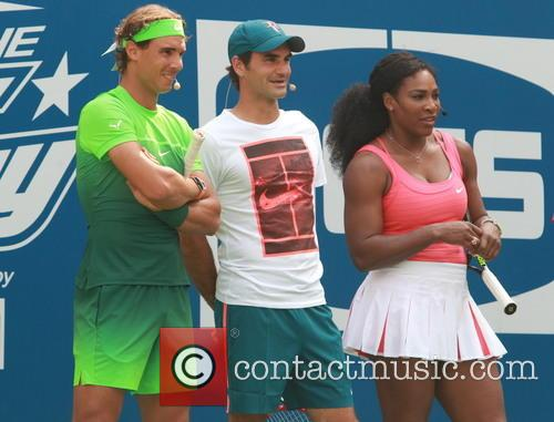 Rafael Nadal, Roger Federer and Serena Williams 1