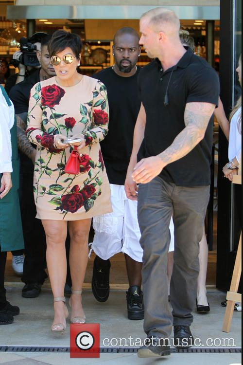 Kris Jenner and Corey Gamble 3