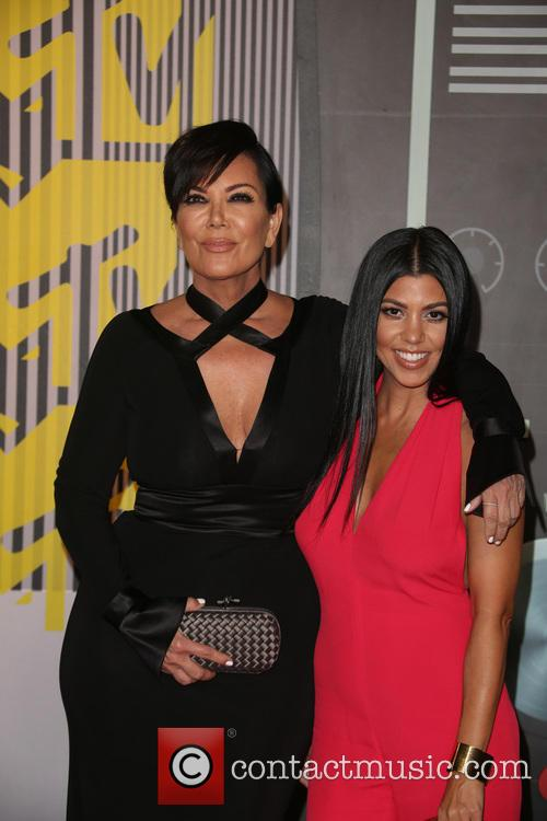 Kris Jenner and Kourtney Kardashian 3