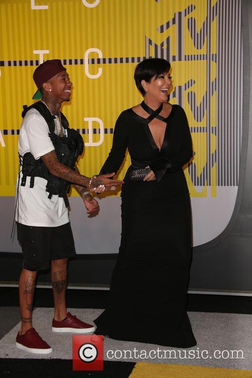 Kris Jenner and Tyga 1
