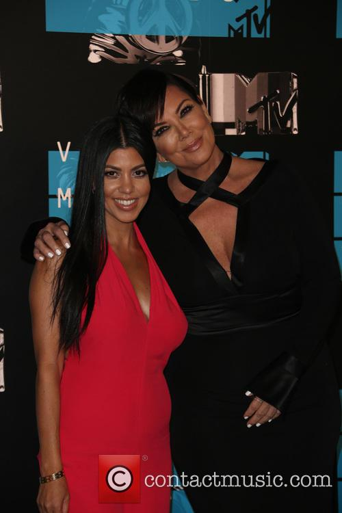 Kris Jenner and Kourtney Kardashian 1