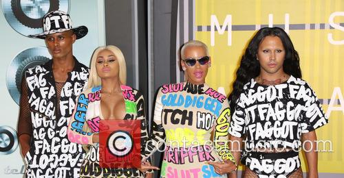Guest, Blac Chyna and Amber Rose 1
