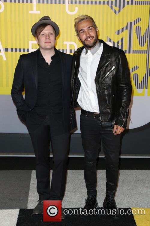 Fall Out Boy, Pete Wentz and Patrick Stump 2