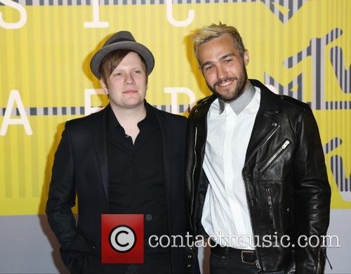Fall Out Boy, Pete Wentz and Patrick Stump 1