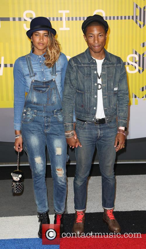 Helen Lasichanh and Pharrell Williams 3