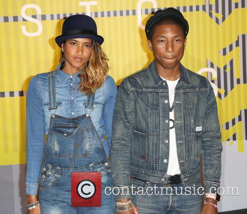 Helen Lasichanh and Pharrell Williams 5