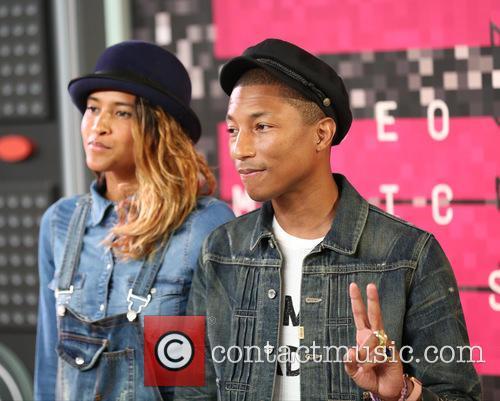 Helen Lasichanh and Pharrell Williams 6