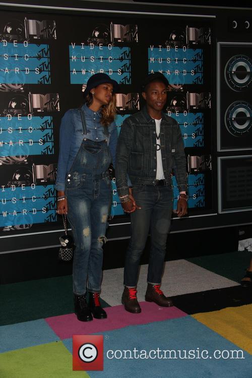 Pharrell Williams and Helen Lasichanh 3