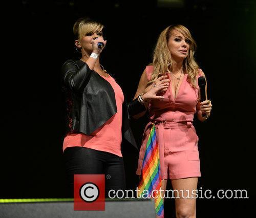 Kerry Katona and Liz Mcclarnon 8