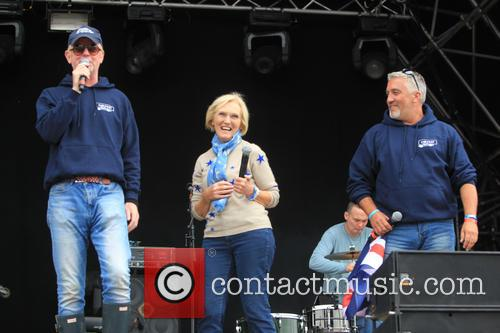 Paul Hollywood, Chris Evans and Mary Berry 2