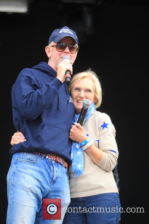 Chris Evans and Mary Berry 2