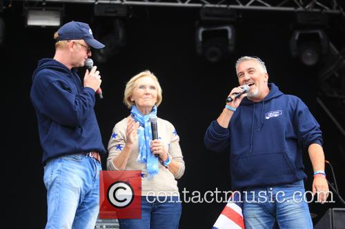 Paul Hollywood, Chris Evans and Mary Berry 1
