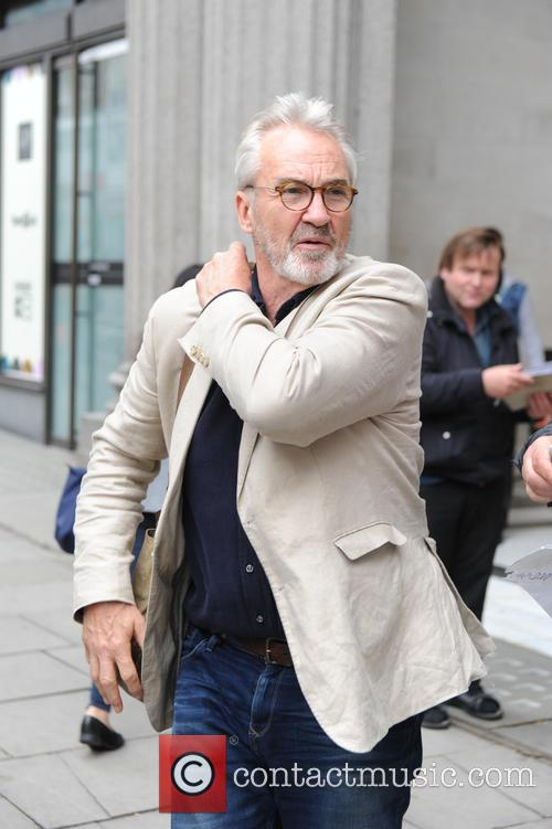 Larry Lamb seen out in London