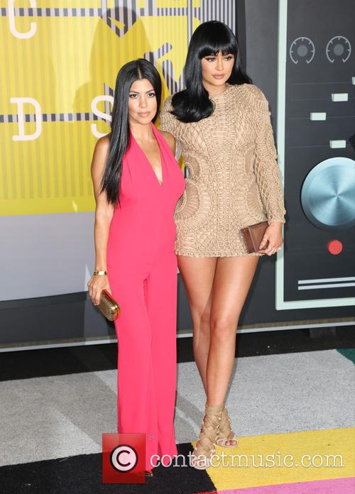 Kourtney Kardashian and Kylie Jenner 1