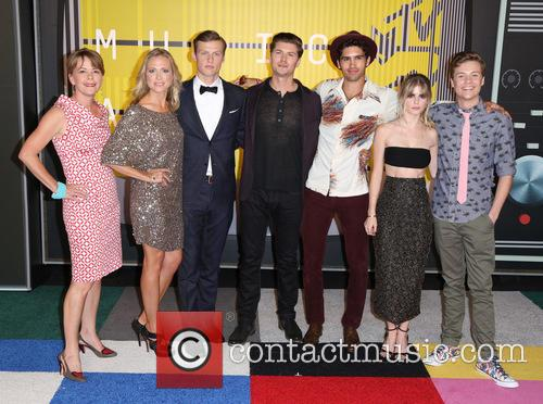 Jill E. Blotevogel, Tracy Middendorf, Connor Weil, Amadeus Serafini, Tom Maden, Carlson Young and John Karna 2