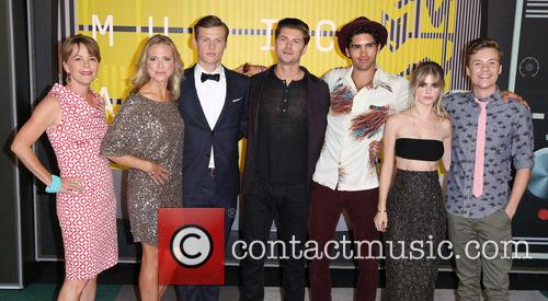 Jill E. Blotevogel, Tracy Middendorf, Connor Weil, Amadeus Serafini, Tom Maden, Carlson Young and John Karna 1