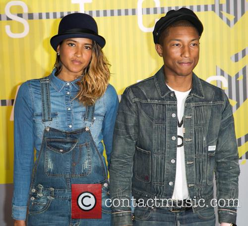 Helen Lasichanh and Pharrell Williams 2