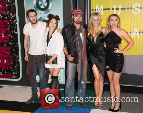 Billy Ray, Braison Cyrus, Noah Cyrus and Brandi Glenn Cyrus 1