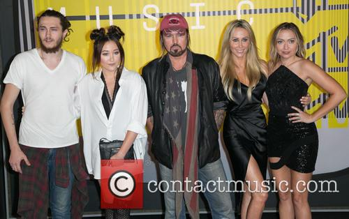 Billy Ray, Braison Cyrus, Noah Cyrus and Brandi Glenn Cyrus 3