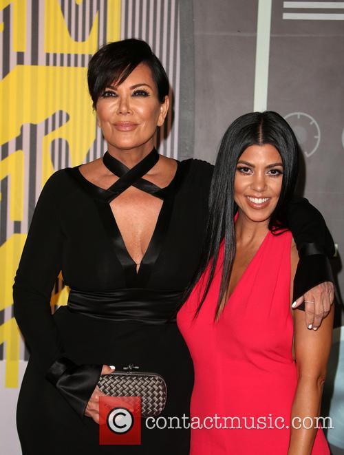 Kris Jenner and Kourtney Kardashian 5