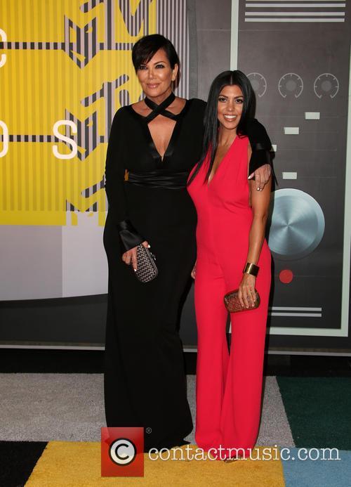 Kris Jenner and Kourtney Kardashian 1
