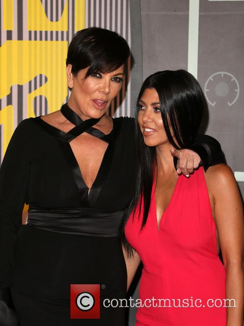 Kris Jenner and Kourtney Kardashian 8