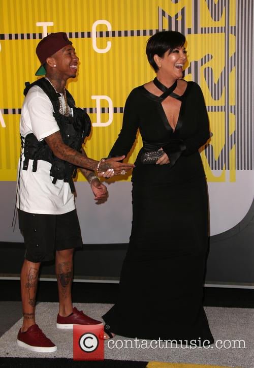 Tyga and Kris Jenner 1