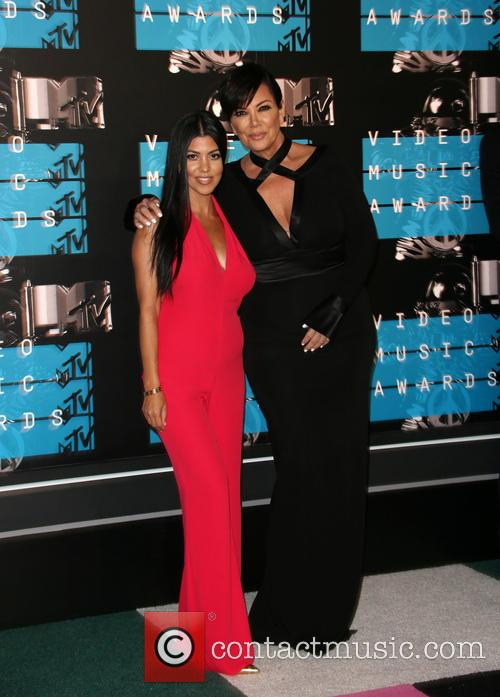 Kourtney Kardashian and Kris Jenner 3