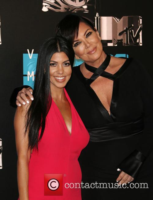 Kourtney Kardashian and Kris Jenner 4