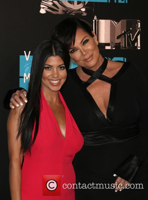 Kourtney Kardashian and Kris Jenner 5