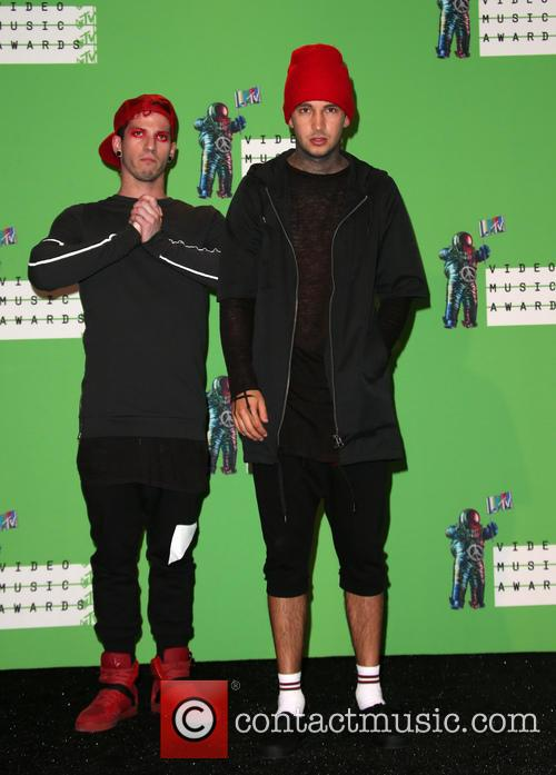 Josh Dun and Tyler Joseph 1